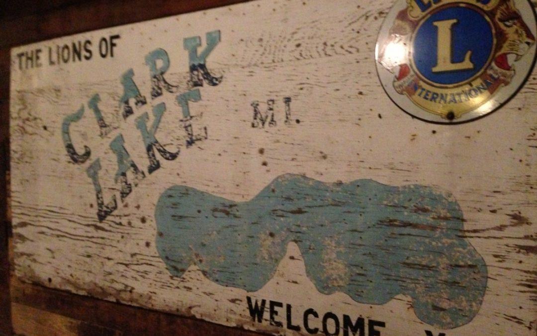 Clark Lake Lions Club Ice Festival, 1974