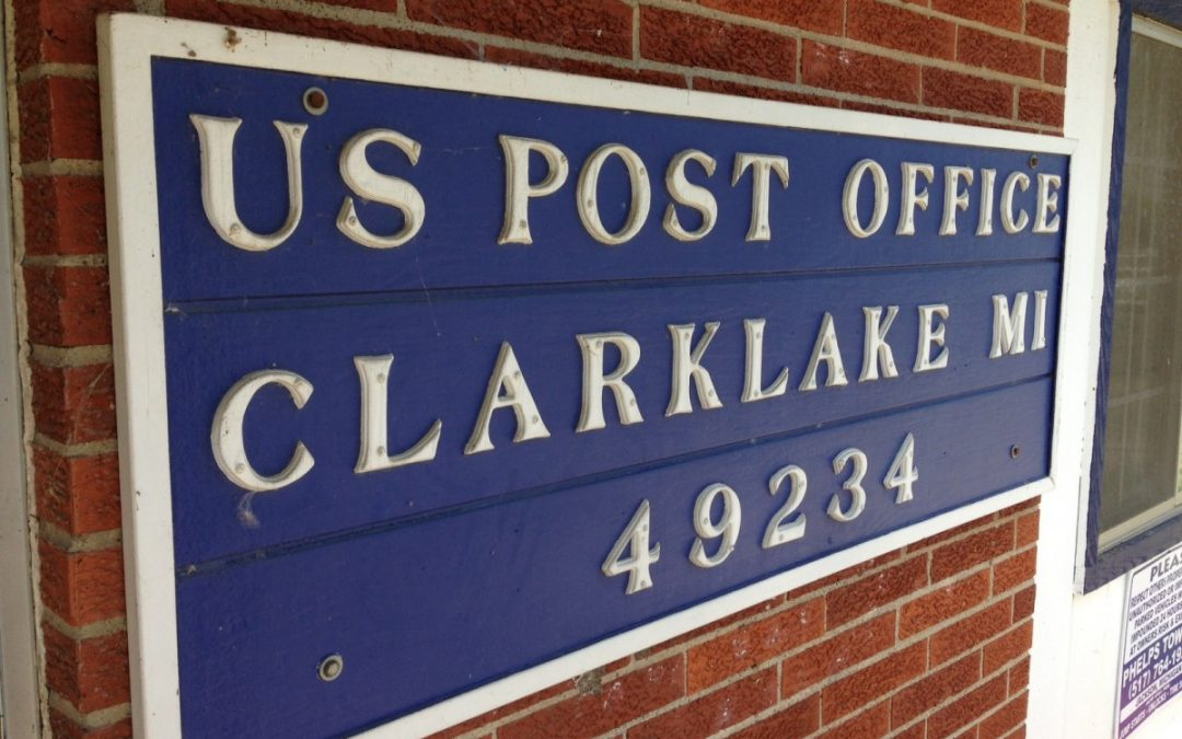 Clark Lake's Own Post Office