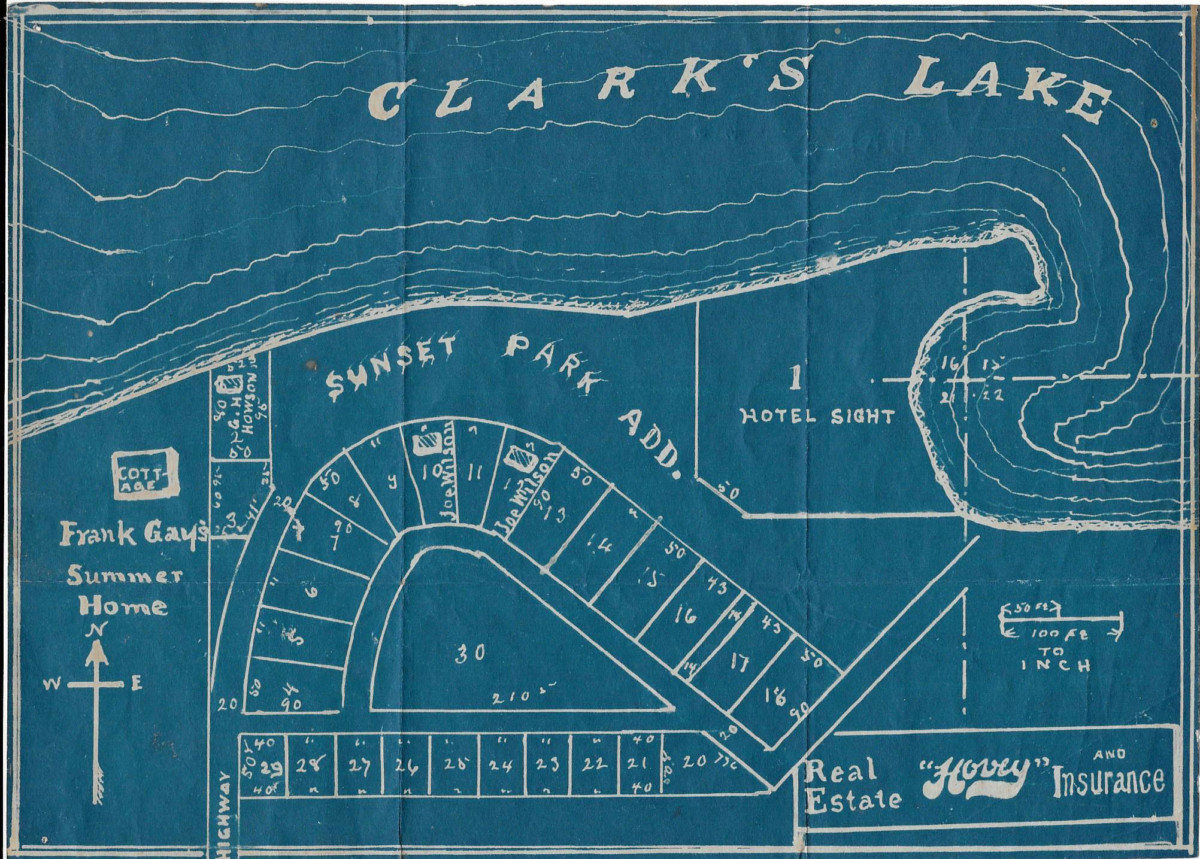 The Clark Lake Canal that Almost Happened