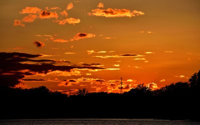 Were You at Clark Lake for Tonight's Sunset?