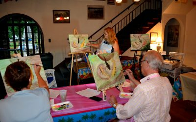Painting Party at the Yacht Club