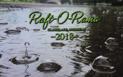 Raft-O-Rama Calendar for 2018