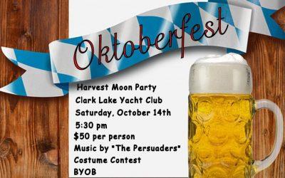 Oktoberfest Nears at Clark Lake