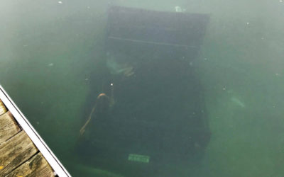 Truck Underwater at Eagle Point