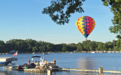 Hot Air Balloons Visit