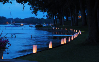 Luminaries Lined the Lake