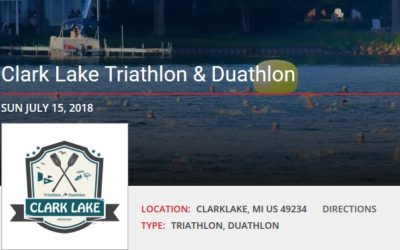 Clark Lake Triathlon and Duathlon