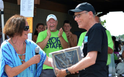 Rick Belcher Receives Spirit of Clark Lake Award