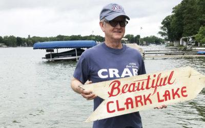 Clark Lake Welcomes Fall