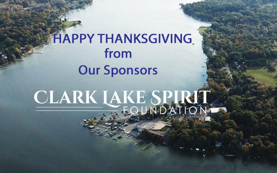 Thanksgiving at Clark Lake