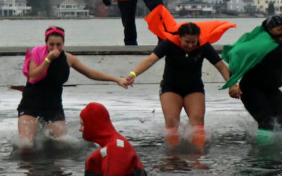 Polar Plunge at the Point