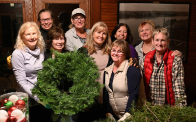 Garden Angels Get Ready for Christmas