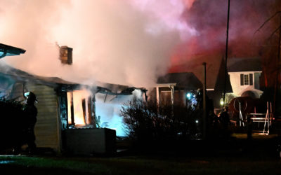 Fire Destroys Clark Lake House