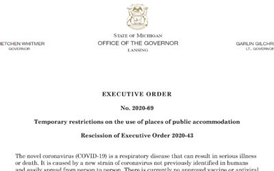 Governor Issues New Orders