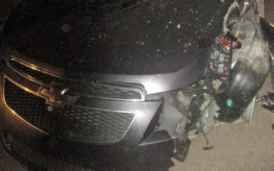 Crash on Brooklyn Road