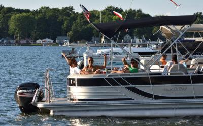 Boat Splash on Saturday
