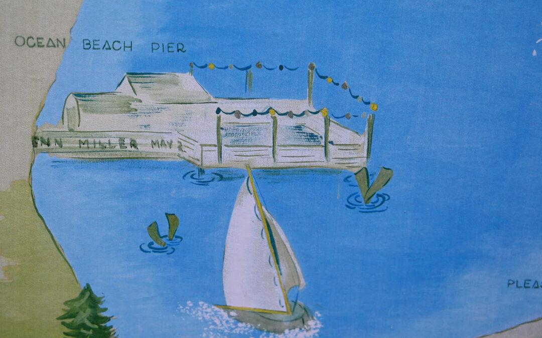 Clark Lake 1940 in Watercolors