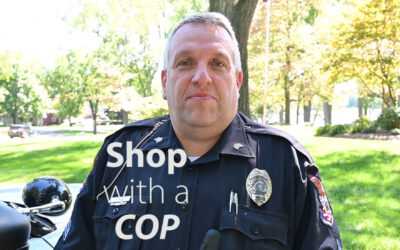 Thin Blue Line and Shop with a Cop
