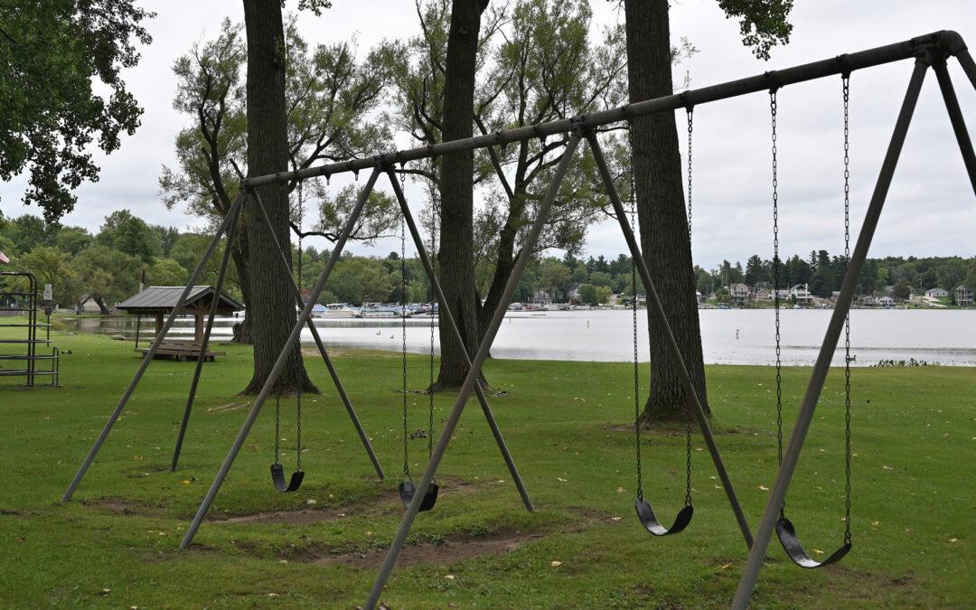 Parks Department Prepares for Playground Equipment