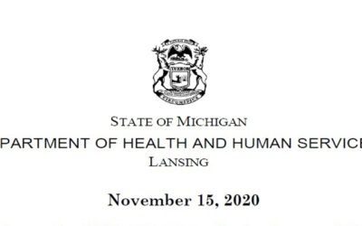 Michigan's New COVID Restrictions