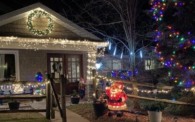 Clark Lake's Christmas Sparkle