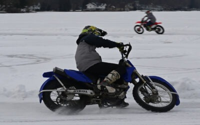 Motocross on Ice