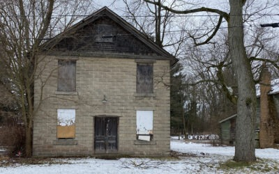 A Clark Lake Mystery: What is this Building and What Happened in It?