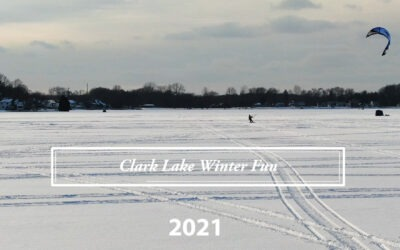 A New View of Clark Lake Winter Fun