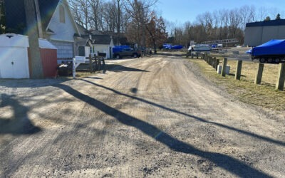 Paving on Eagle Point Drive