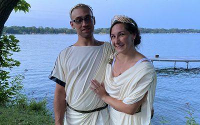 A Clark Lake Wedding with a Twist